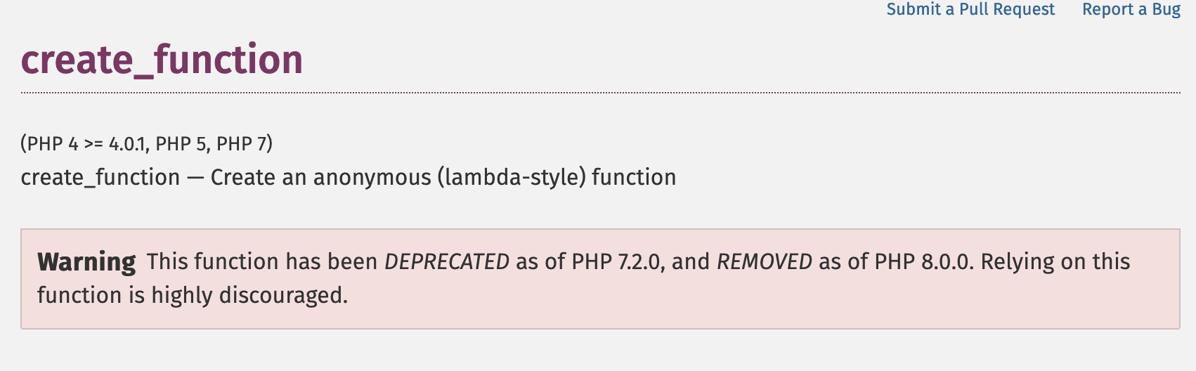 create_function在php8被移除